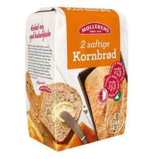 Prøv også Møllerens Saftig Kornbrød.