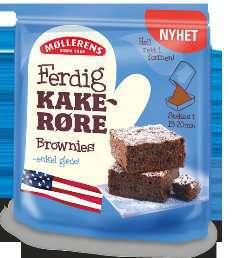 Bilde av Møllerens Amerikansk Brownies.