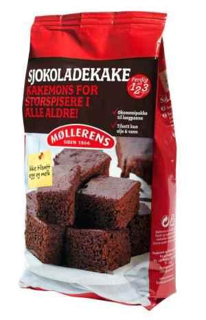 Prøv også Møllerens sjokoladekake.