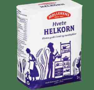 Bilde av Møllerens sammalt hvete helkorn.