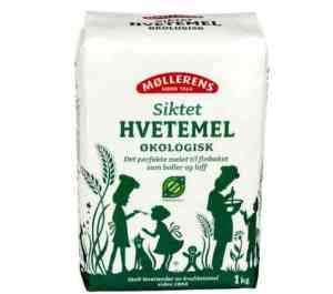 Prøv også Møllerens Økologisk siktet hvetemel.