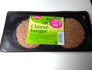 Bilde av Coop cheeseburger.