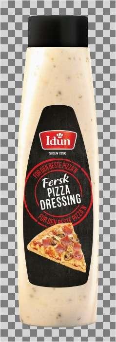 Prøv også Idun Fersk Pizzadressing.