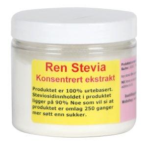 Prøv også Ren Stevia.