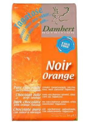 Bilde av Tagatose mørk sjokolade med appelsin 85 g.