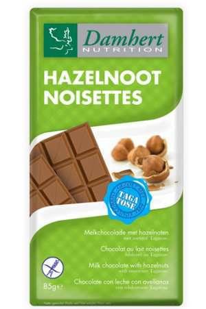Prøv også Tagatose melkesjokolade med nøtter 85 g.