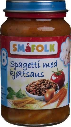 Prøv også Småfolk spagetti med kjøttsaus.