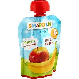Prøv også Småfolk i farta eple og banan.