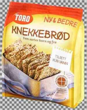 Prøv også Toro knekkebrød.