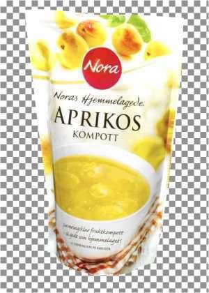 Prøv også Noras hjemmelaget Aprikoskompott.