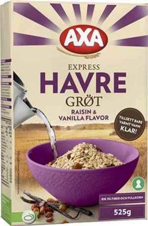 Prøv også Axa Bjørn Havregrøt med rosin og vanilje.