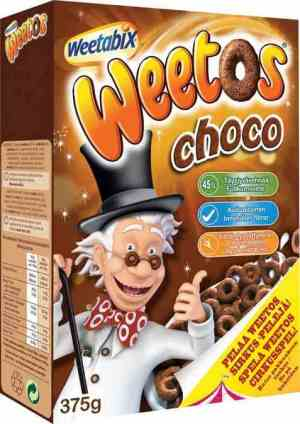Prøv også Weetabix weetos choco.