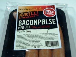 Prøv også Nordfjord baconpølse med ost.