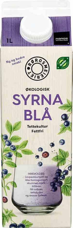Prøv også Rørosmeieriet syrnet mjølk skogsblåbær.