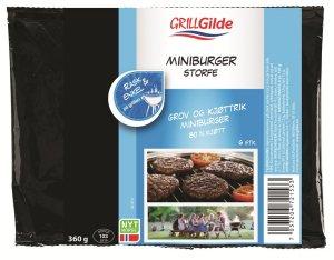 Prøv også Gilde Miniburger med bacon og svin.