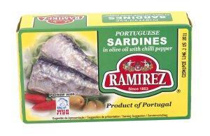 Prøv også Ramirez sardiner i olivenolje chili.