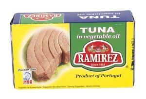 Prøv også Ramirez tunfisk i vegetabilsk olje.