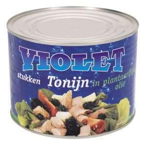 Prøv også Violet tunfiskbiter i olje.