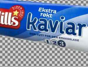 Prøv også Mills Ekstra røkt kaviar.