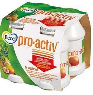 Prøv også Becel proactiv tropical.
