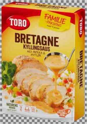 Prøv også Toro bretagne kyllingsaus med paprika og hvitløk økonomipakke.