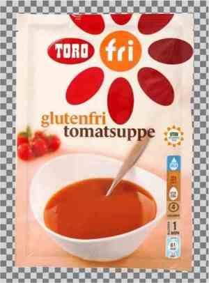 Prøv også Toro glutenfri tomatsuppe.