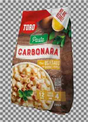 Prøv også Toro pasta carbonara familiepakning.