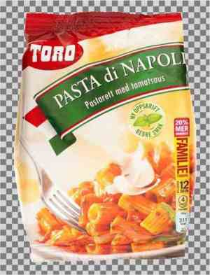 Prøv også Toro Pasta di Napoli familiepakning.