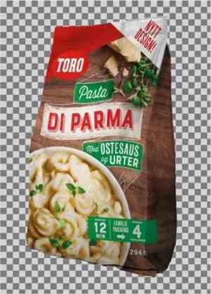 Prøv også Toro Pasta di Parma familiepakning.