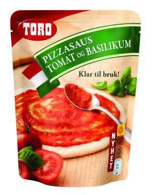 Prøv også Toro pizzasaus tomat og basilikum.