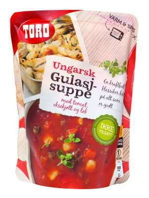 Prøv også Toro ungarsk gulasjsuppe.