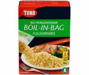 Prøv også Toro Boil in bag fullkornsris.