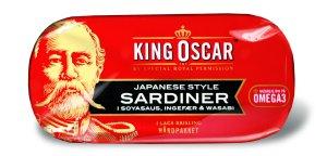 Prøv også King Oscar brislingsardiner japanese style.