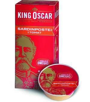 Prøv også King Oscar sardinpostei i tomat.