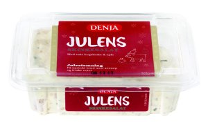 Prøv også Denja julens skinkesalat.