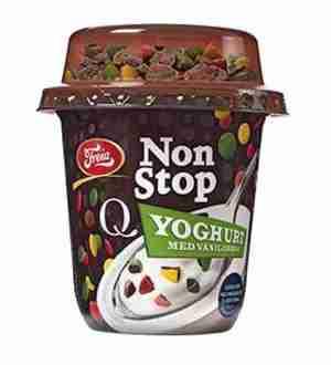 Prøv også Q NonStop Yoghurt.