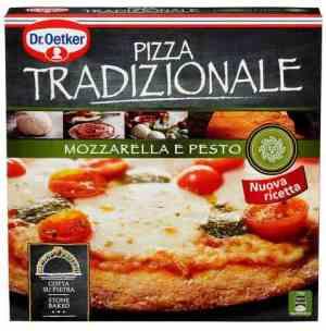 Prøv også DrOetker Stenovnsbakt Tradizionale Mozzarella e pesto.