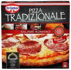 Prøv også DrOetker Stenovnsbakt Tradizionale Salame Romano.