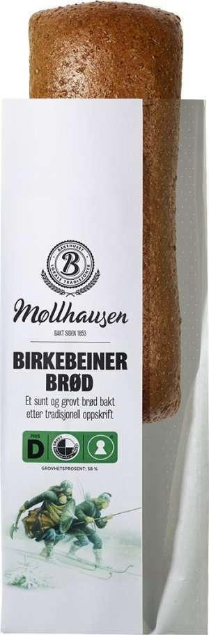 Prøv også Bakehuset Møllhausen birkebeinerbrød.