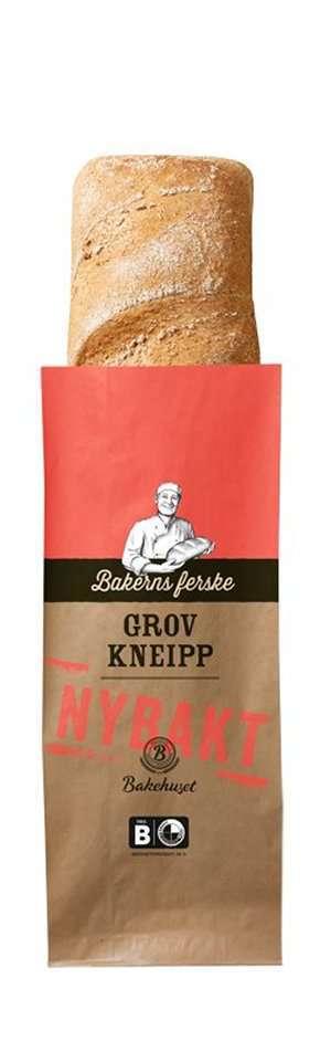 Prøv også Bakehuset bakerns ferske grov kneipp.
