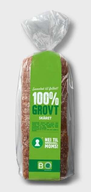 Prøv også Bakehuset Kiwi grovbrød skåret.