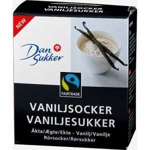 Prøv også Dansukker vaniljesukker fairtrade.