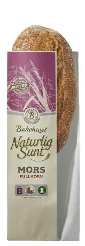 Prøv også Bakehuset Naturlig Sunt Mors Grovbrød.