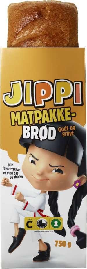 Prøv også Bakehuset Jippi matpakkebrød.