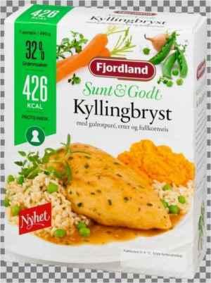 Prøv også Fjordland Kyllingbryst i sjysaus.