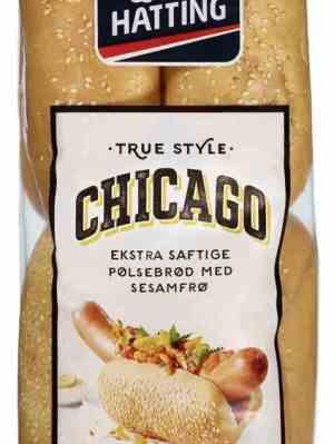 Prøv også Hatting Pølsebrød Chicago.