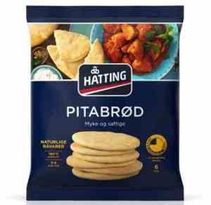 Prøv også Hatting pitabrød.