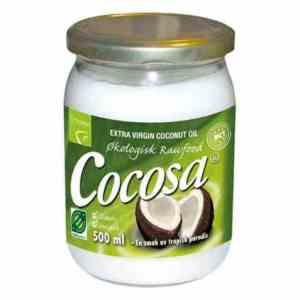 Prøv også Cocosa Extra Virgin Coconut Oil.