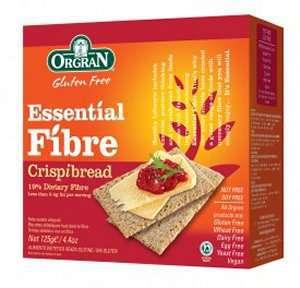 Prøv også Orgran fiber knekkebrød.