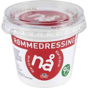 Prøv også Tine Nå Rømmedressing.